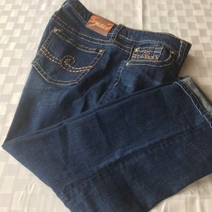Cropped Seven7 brand jeans
